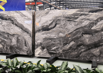 Arabescato Orobico marble slab