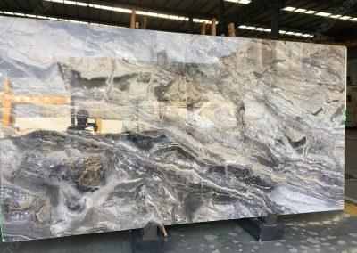 Arabescato Orobico marble slab style1
