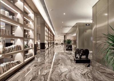 Arabescato Orobico marble flooring tiles
