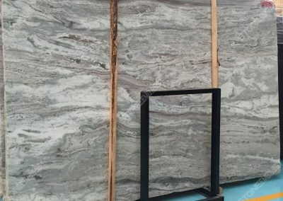Cross Cut Fantasy Brown Marble Big Slab