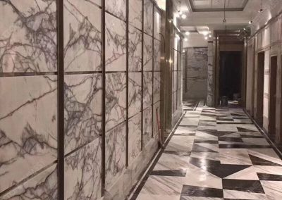 Lilac Marble Flooring Tiles