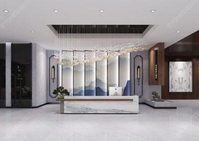 Oriental White Flooring Tiles