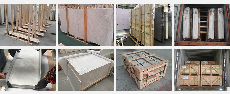 packing and loading of stone products