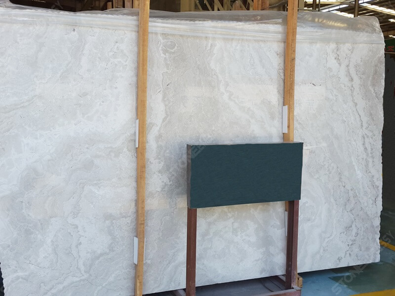white wood marble cross cut