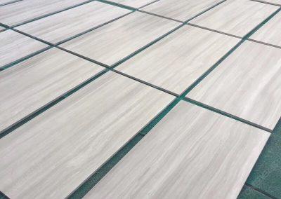 white wooden marble tile