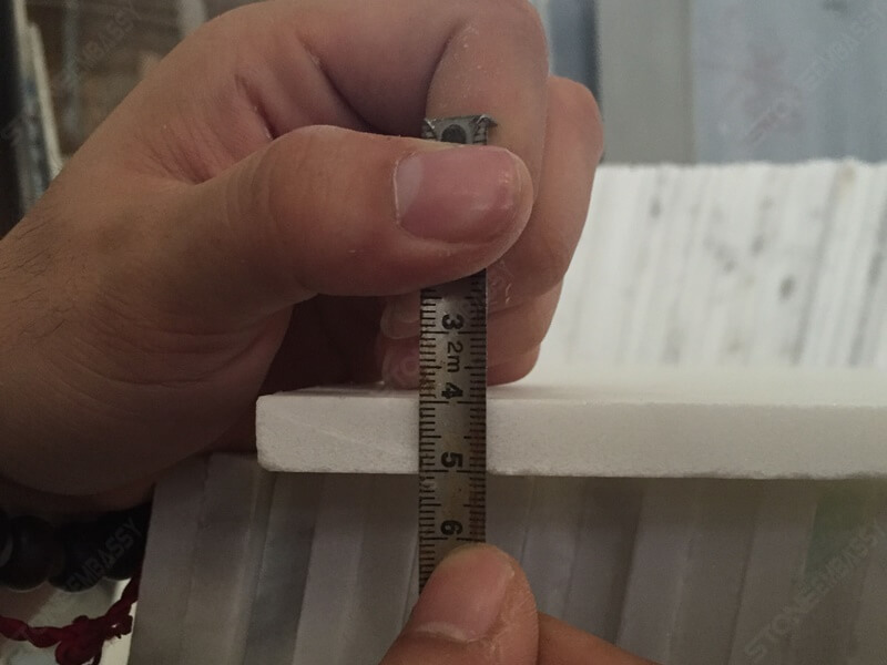 1cm thickness carrara marble