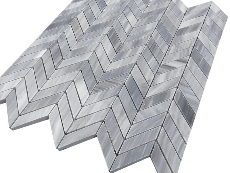 Bardiglio nuvolato mosai tile style1