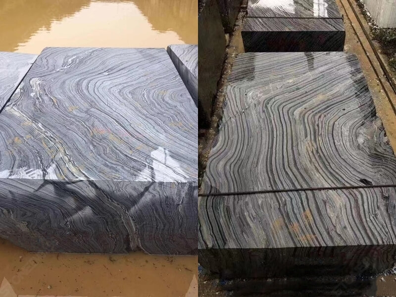 Black forest marble block 2
