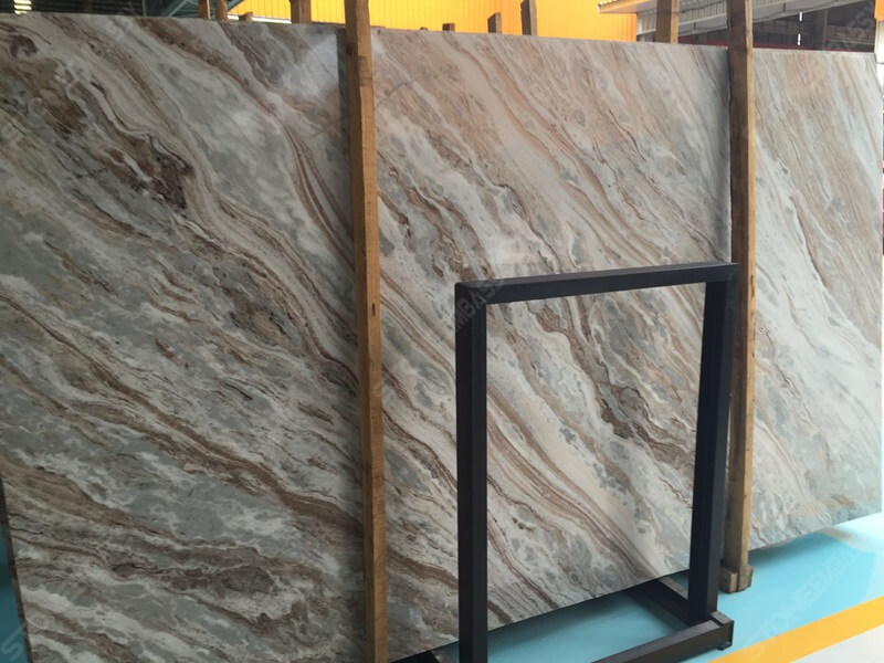 Fantasy Brown Marble Slab Vein Cut