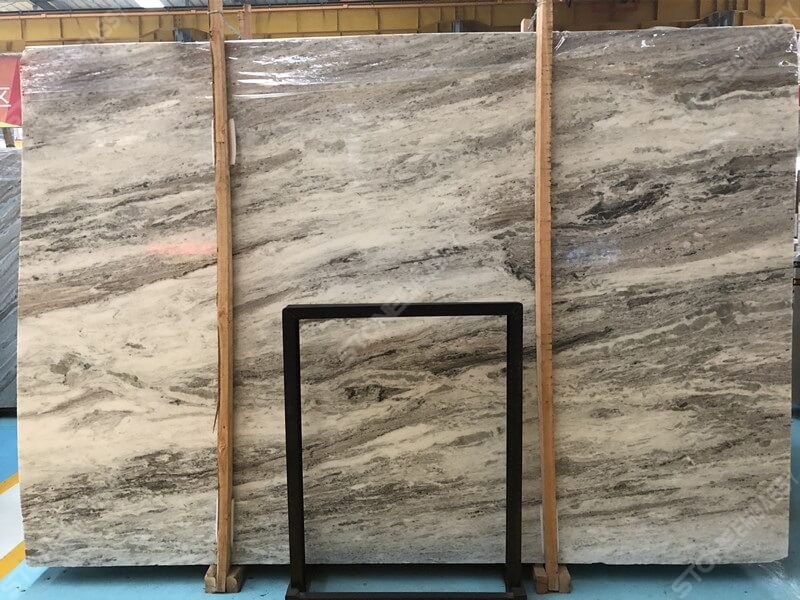 Fantasy Brown Marble Vein Cut