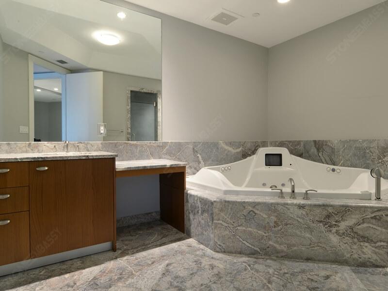 Fior Di Pesco Marble bathroom
