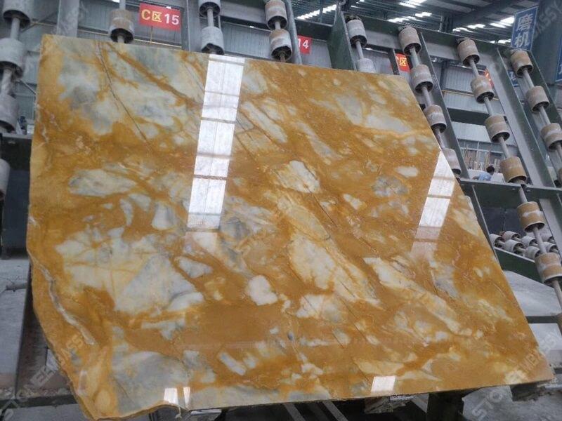 Giallo Siena Marble processing
