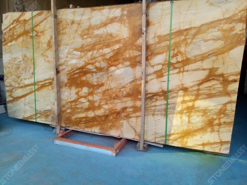 Giallo siena marble yellow Ground colour