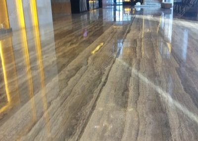 Itan Silver Travertine Flooring Tiles
