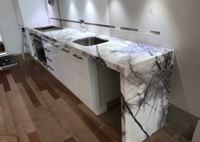 Lilac Marble Countertop for Kitchen