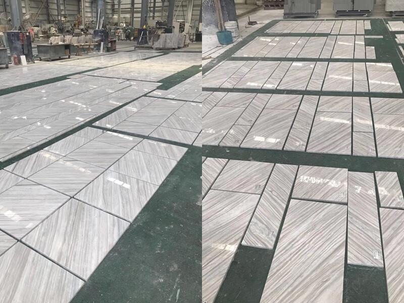 Nestos Marble Diagonal Texture Tile