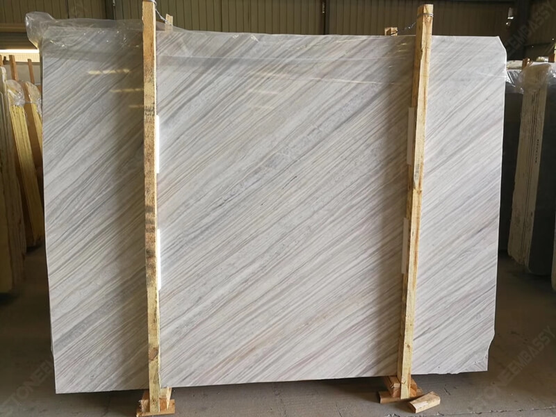 Nestos Marble Slab Diagonal Texture