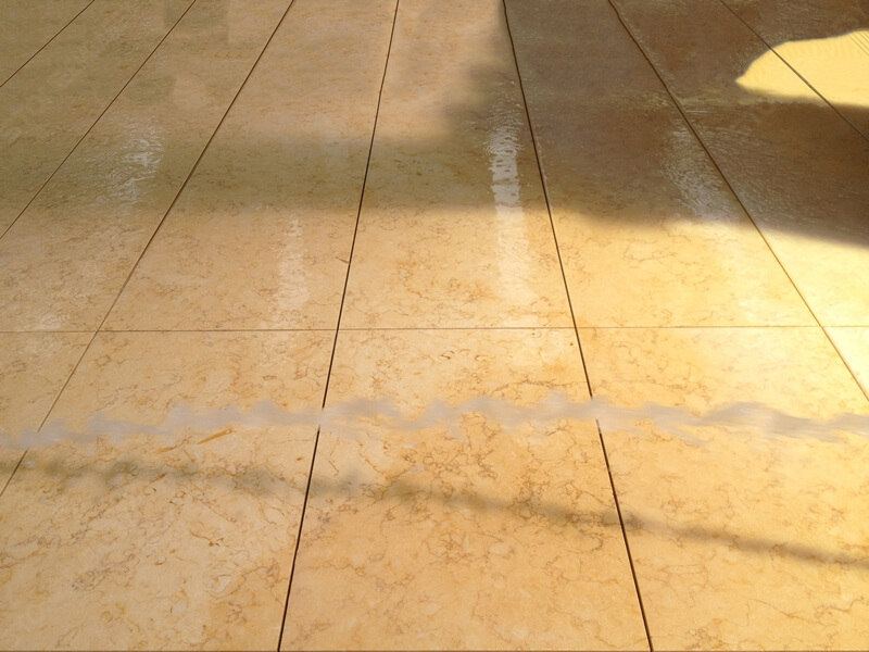 Sunny marble floor tile