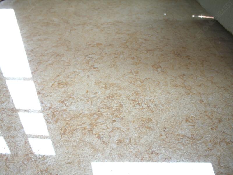 Sunny marble polished