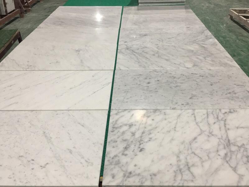 carrara marble tile 12x24
