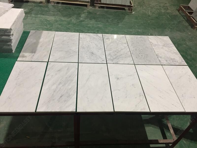 different vein color of carrara tiles (1)