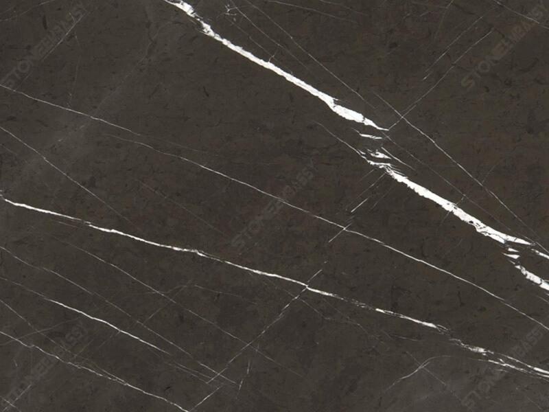 pietra grey marble close up