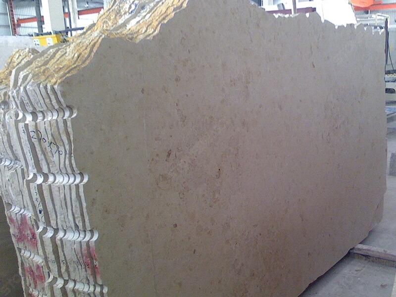 polished jura beige limestone
