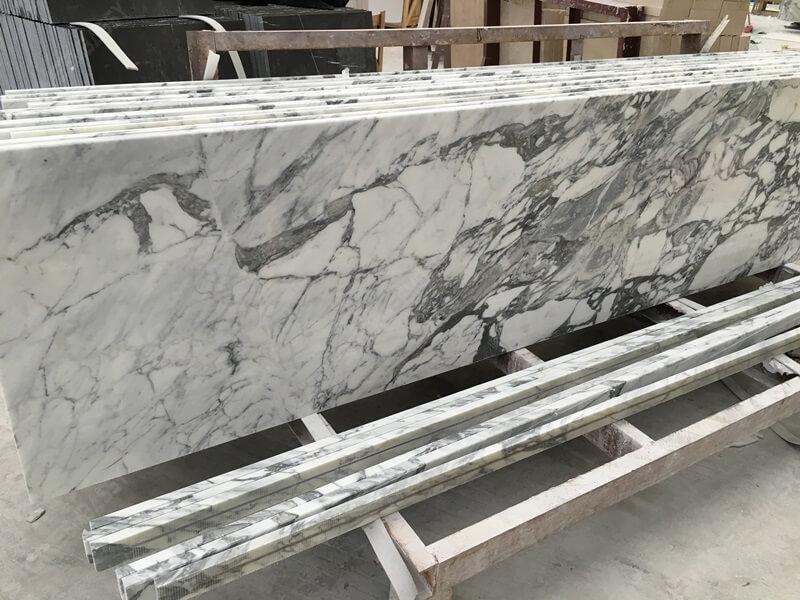 Arabescato Marble Countertop for Bubai Project (1)