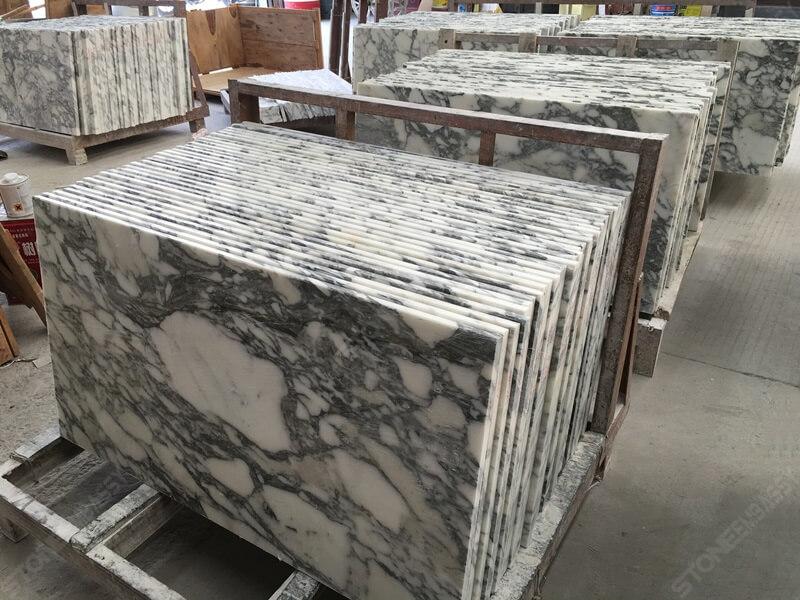 Arabescato Marble Countertop for Bubai Project (4)