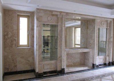 Cappuccino Marble Bathroom