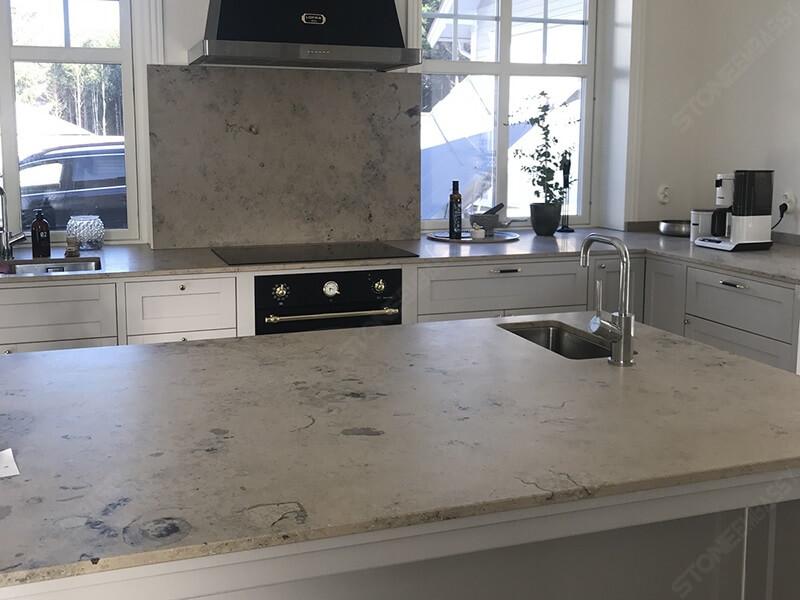 Jura Grey Limestone Countertops (Benchtops)