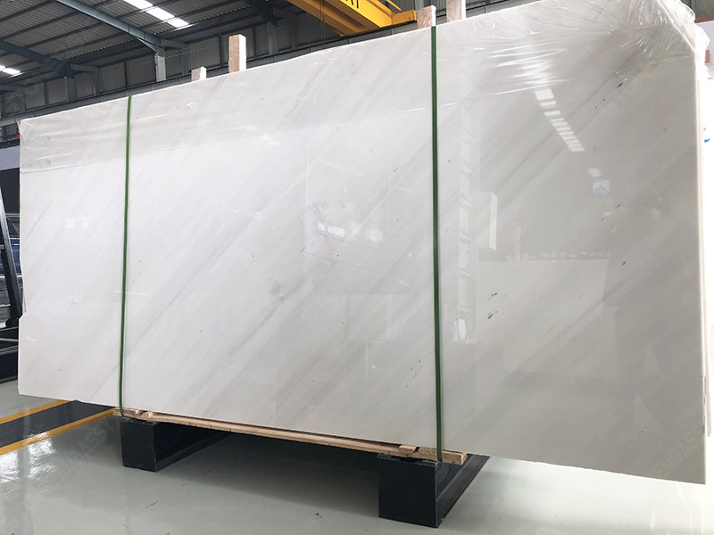 Polished Sivec White Marble Slabs (1)