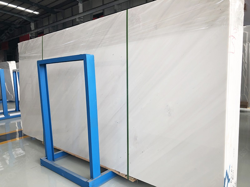 Polished Sivec White Marble Slabs (2)