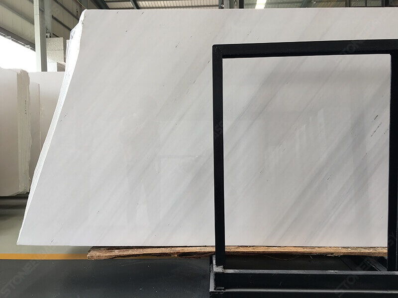 Sivec White Marble Slabs (2)