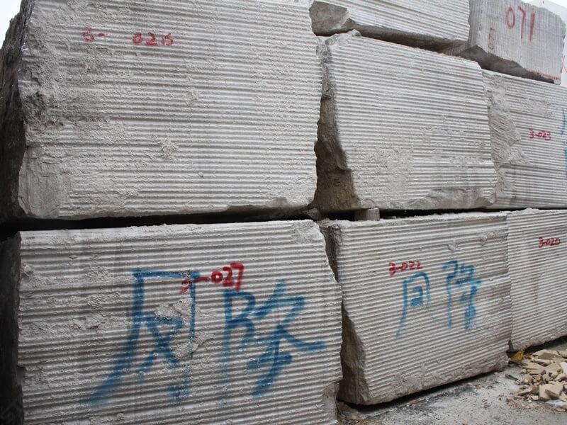 wood white stone blocks