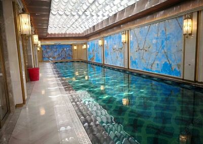 Blue Onyx for Swimming Pool