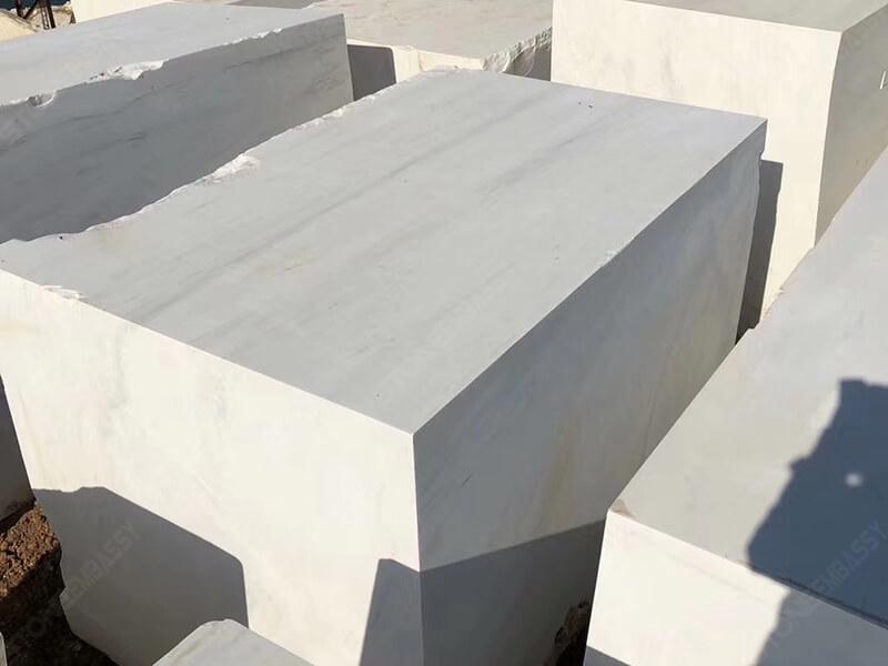 White Dolomite Marble block