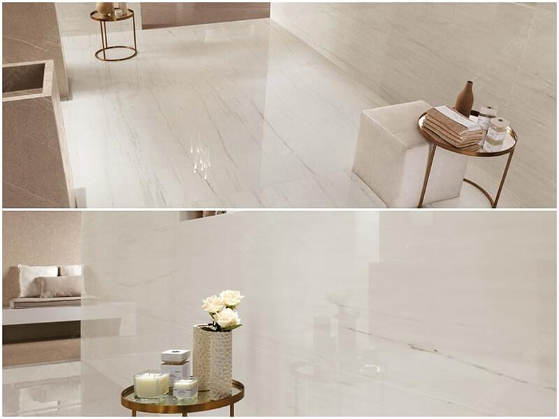 White Dolomite Marble floor tile