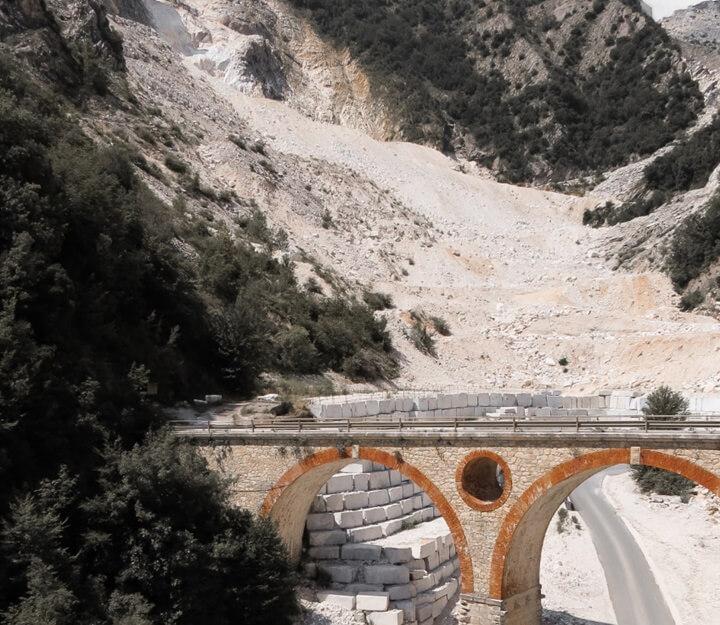 Carrara Quarry Scenery