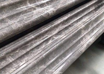 Grey Emperador Marble Stripe