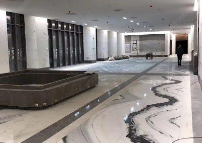 Panda White Marble Flooring