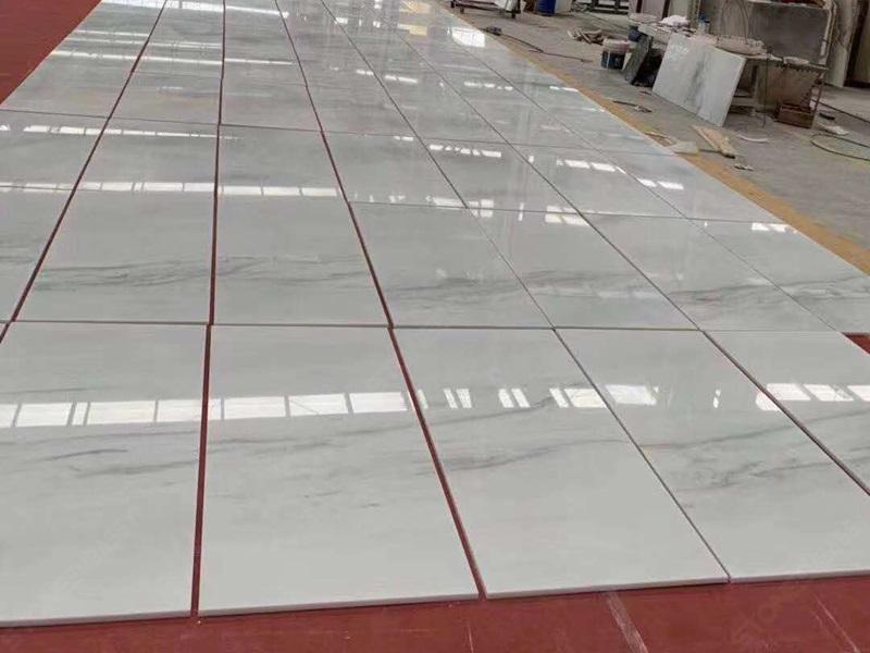 Polar White Marble Tiles