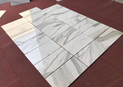 Polished Calacatta Gold Marble 1cm Thick Tiles (2)