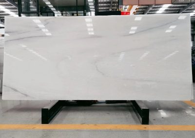 Polished Slabs of Polar White Marble