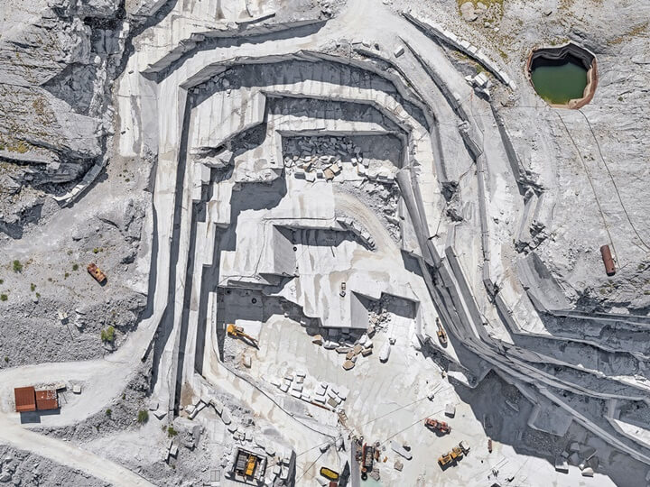 Top View Carrara Marble Quarry by Bernhard Lang (2)