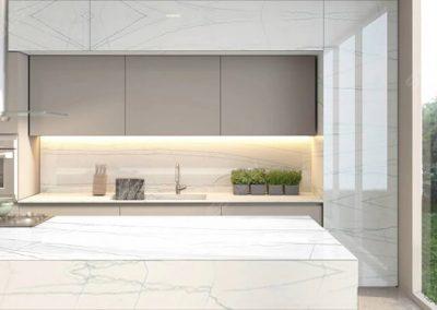 white macaubas quartzite countertops (benchtops)