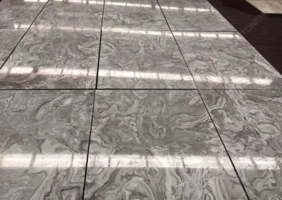 Avalanche White Marble Tiles
