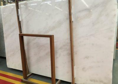 Bianco Rhino White Marble Slab