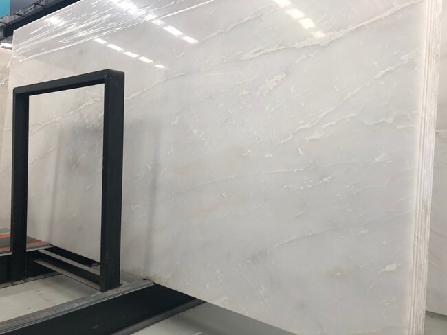 Bianco Rhino White Marble Big Slab