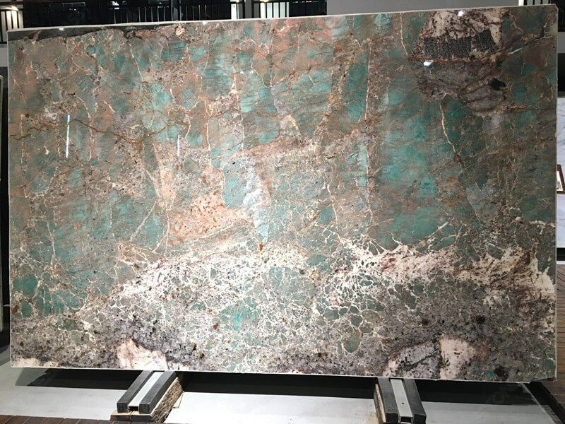 Blue Amazonite Quartzite Slab